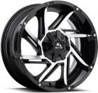 Литые диски BUFFALO BW-422 gloss-black-machined-face